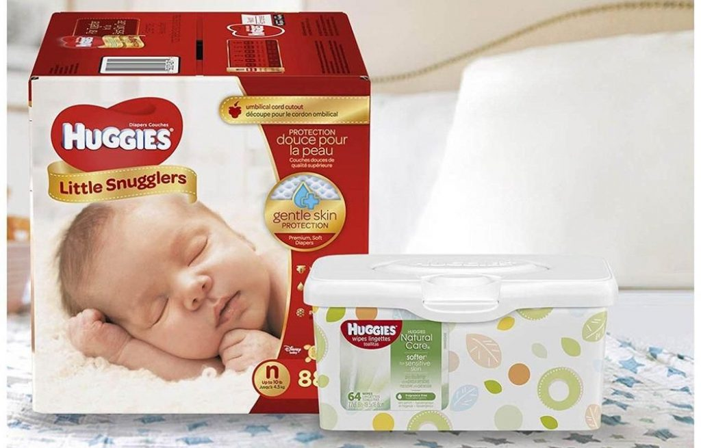 free huggies diapers wipes sample pack