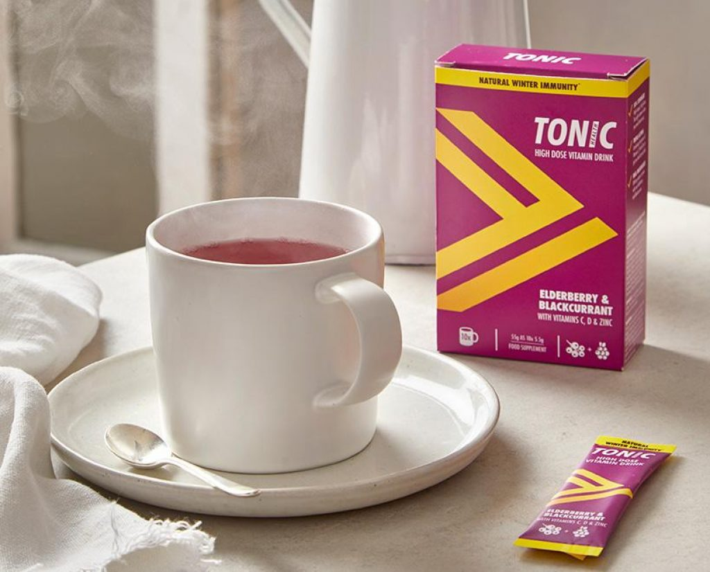 Receive FREE Samples of Tonic Health Elderberry & Blackcurrant High Dose Vitamin Drink by mail