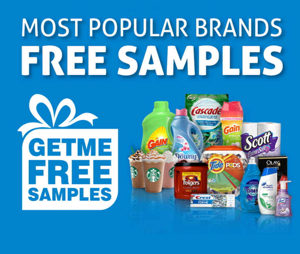 Most popular brands free samples