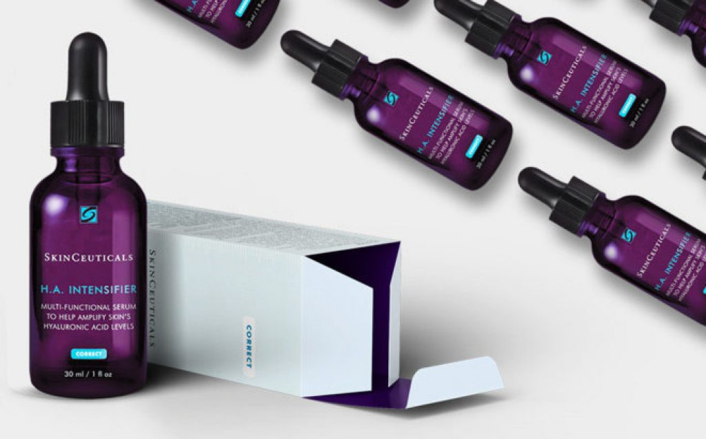 grab a free Skinceuticals HA Intensifier sample