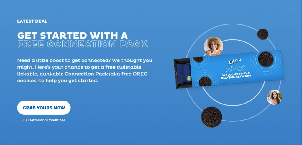 get your free oreo sample pack by mail