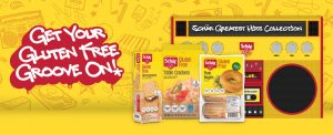 free sample box of Schar Gluten Free Snacks