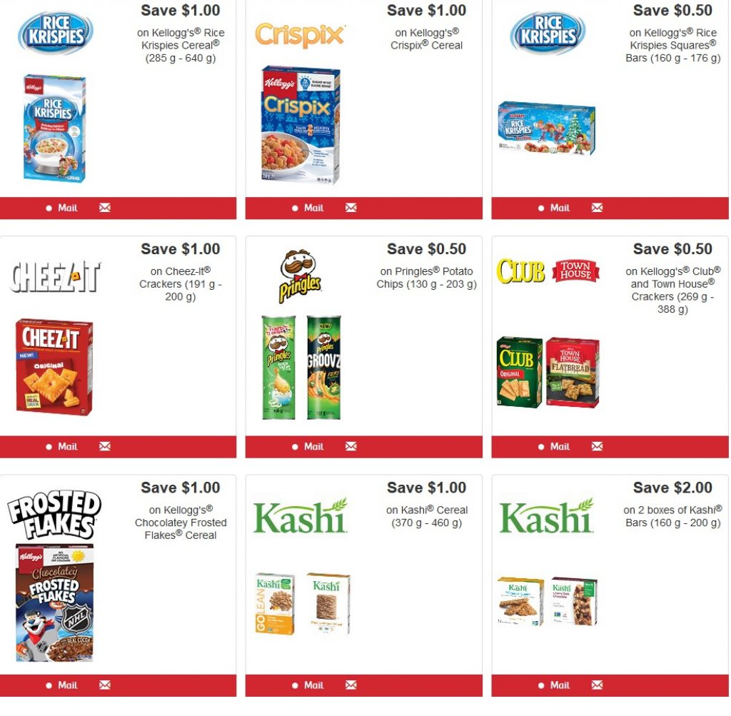Save up with new kelloggs coupons canada