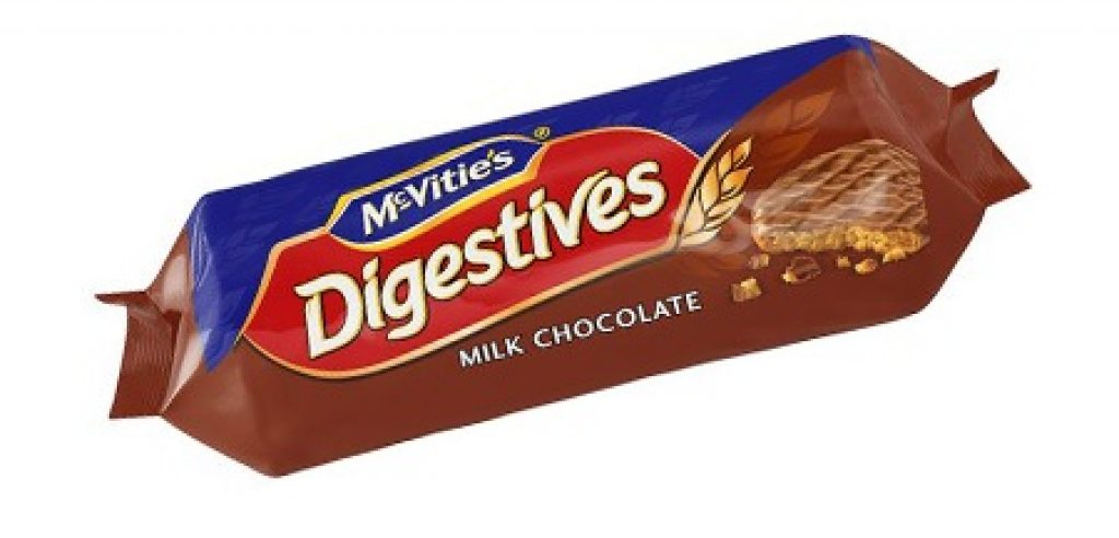 FREE McVities Digestives Chocolate Biscuits