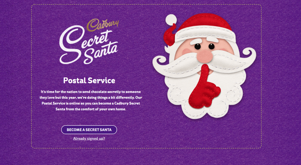 Free Cadbury Chocolate Bars with Secret Santa