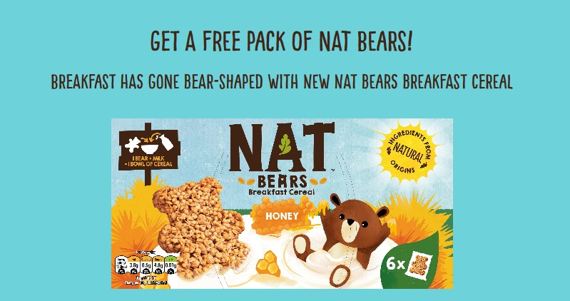 grab Free Nestle NAT Bears Cereals with cashback deal