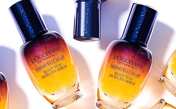 grab a free L'Occitane Overnight Serum sample with Marie Claire