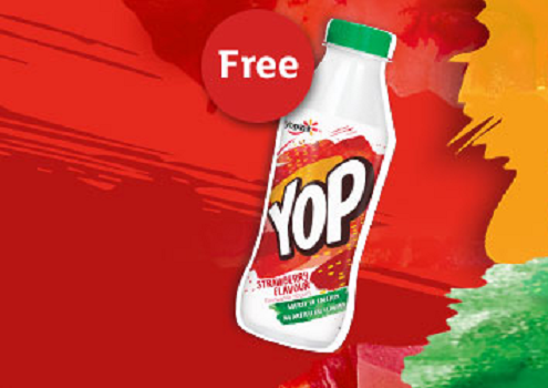 Grab free Yoplait drinkable Yogurts with your next online order at Sainsburys