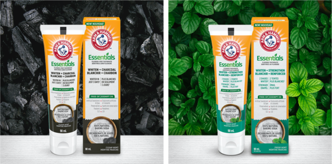 Free Arm & Hammer Toothpaste sample with Sampler
