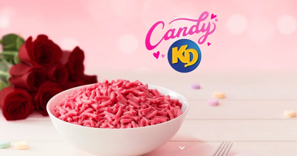 Claim a free Candy KD box from Kraft Canada for Valentine's day 2021!