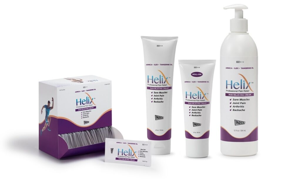 free helix pain relief cream sample by mail in the US